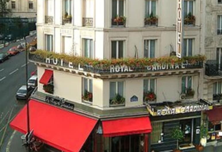 紅衣主教皇家酒店, 巴黎, 酒店正面