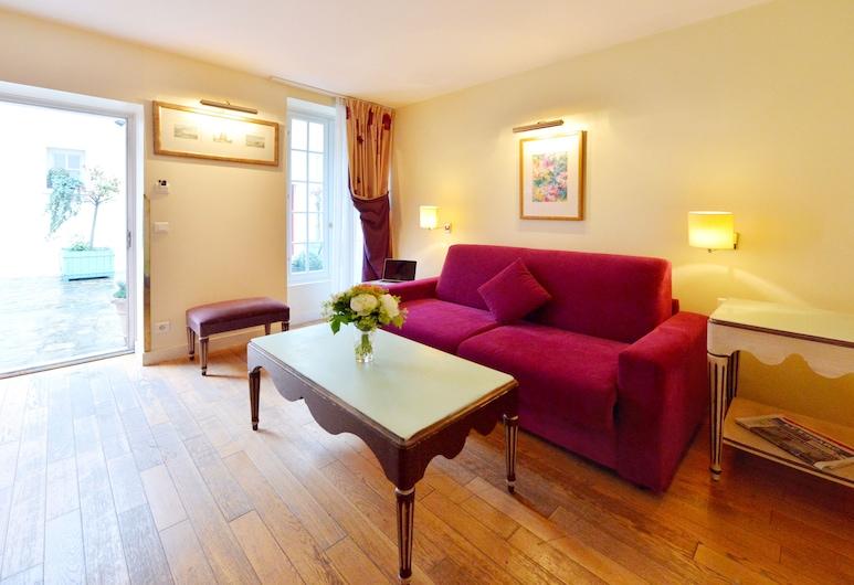 優尼科雷諾爾套房酒店, 巴黎, 雙人房, 2 張單人床, 客廳