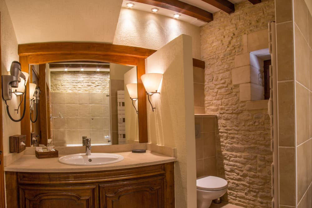 Trojlôžková izba typu Superior - Kúpeľňa