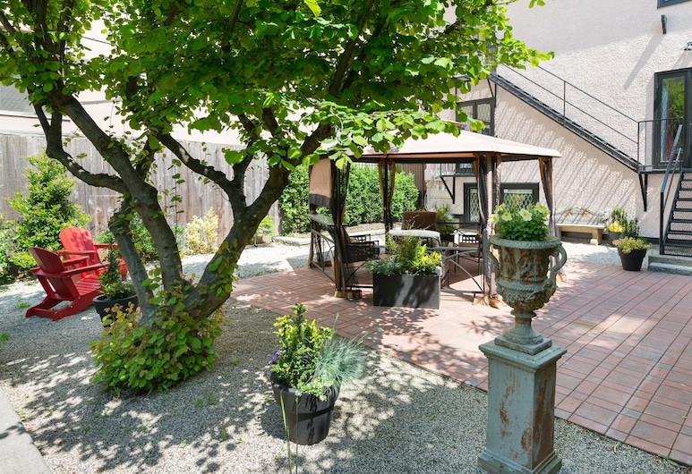 English Bay Inn Bed and Breakfast, Vancouver, Terrasse/Patio