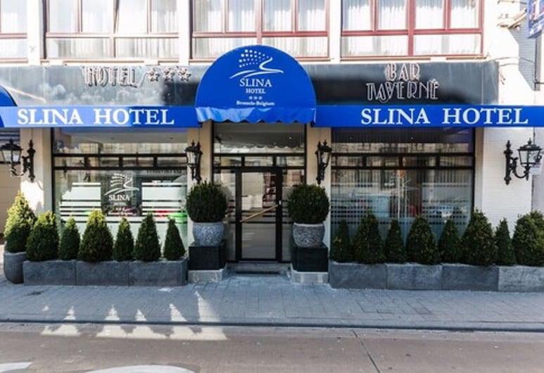Slina Hotel Brussels, Bruxelles, Façade de l'hôtel