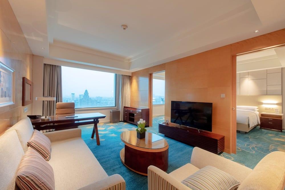 Executive Suite, 1 Bedroom, Non Smoking - Living Area