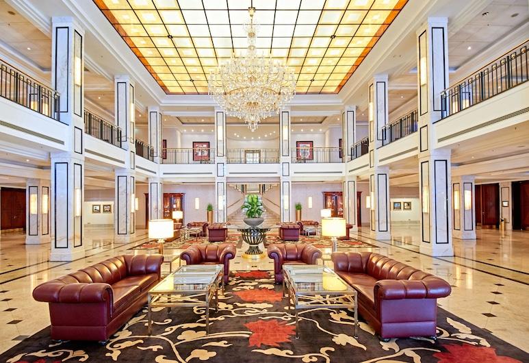 Maritim Hotel Berlin, Berlín, Zona con asientos del vestíbulo