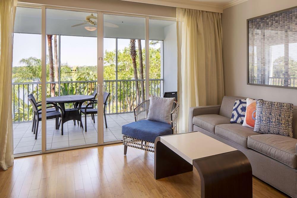 Standard Suite, 2 Bedrooms, Non Smoking - Living Room
