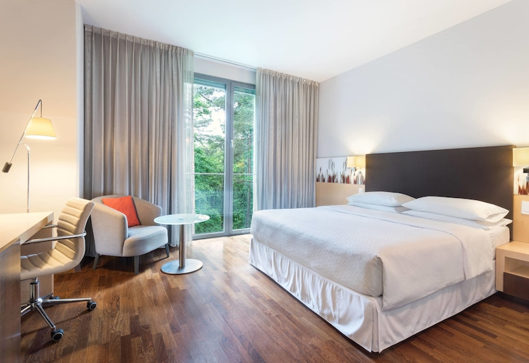 Four Points by Sheraton Ljubljana Mons, Ljubljana, Superior-Zimmer, 1King-Bett, Nichtraucher, Zimmer