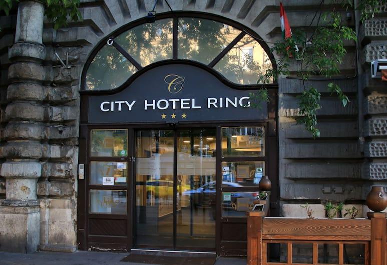 City Hotel Ring, Βουδαπέστη, Είσοδος ξενοδοχείου