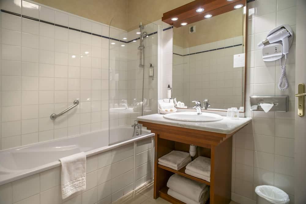 Chambre Confort, 2 lits une place, non-fumeurs - Salle de bain