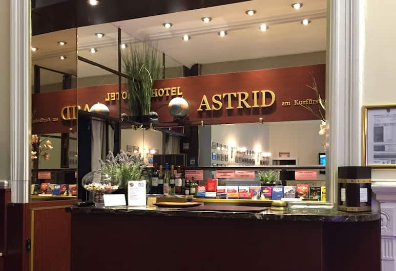 Astrid Hotel am Kurfürstendamm, Berlín, Recepcia