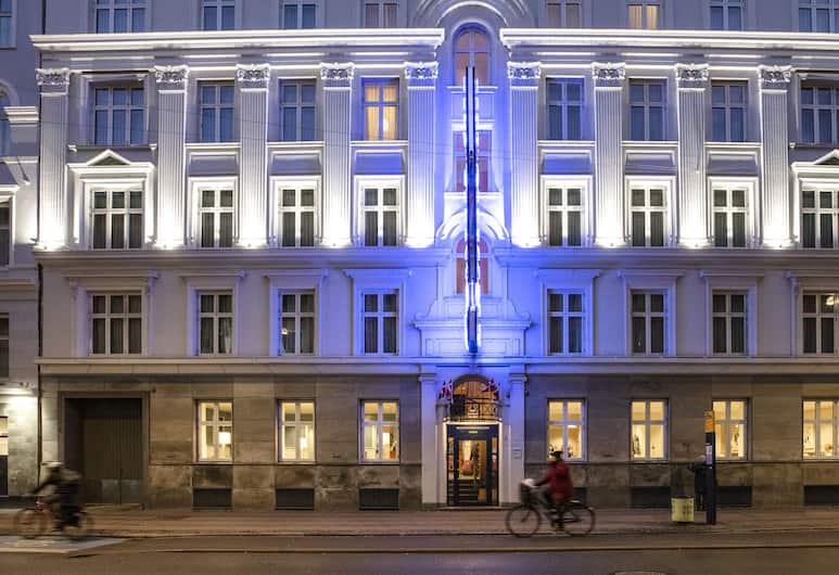 City Hotel Nebo, København, Utvendig