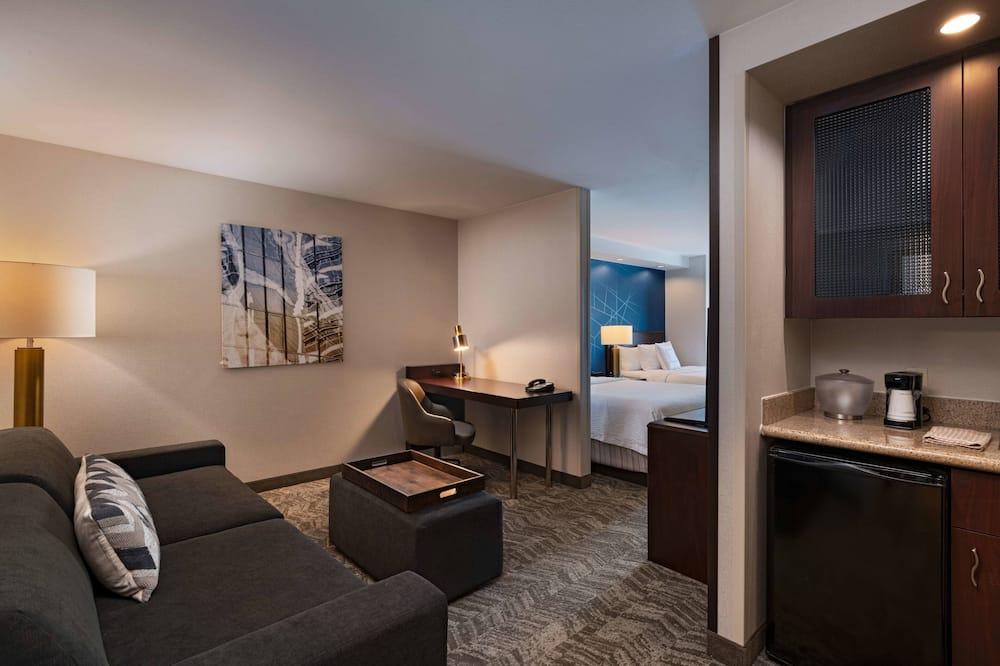 Номер-люкс, 2 ліжка «квін-сайз», для некурців - Житлова площа