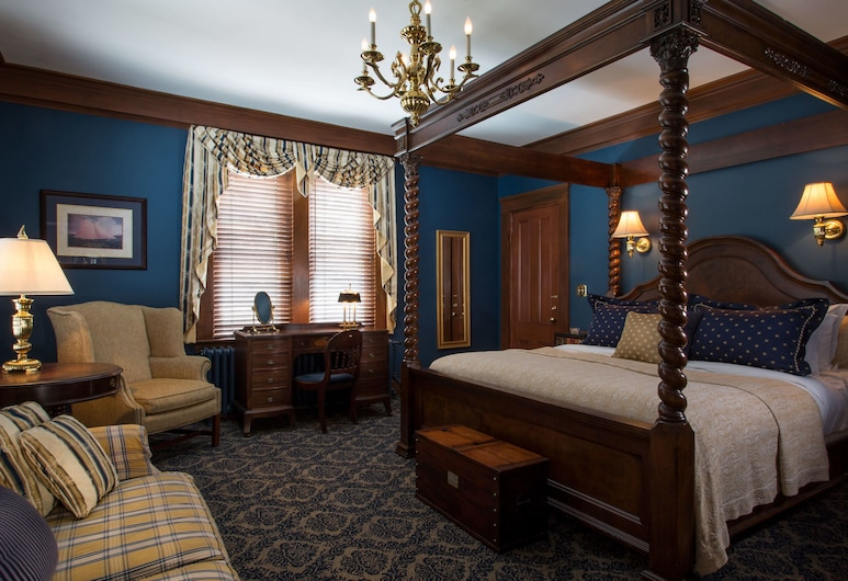 La Farge Perry House, Newport, Standard Double Room, Ensuite (Oliver Perry), Guest Room