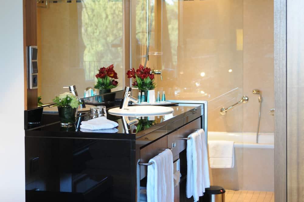 Park Studio Plus Doppelzimmer - Badezimmer