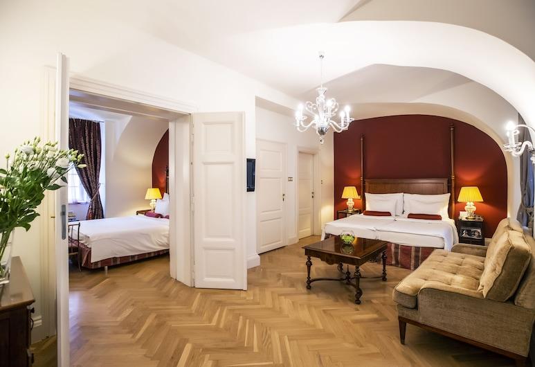 Smetana Hotel, Praga, Suíte família, Quarto