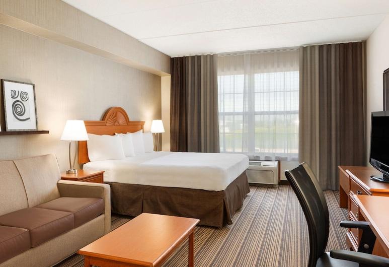 คันทรีอินน์แอนด์สวีทส์ บายเรดิสัน ฟินด์เลย์ OH, ไฟนด์เลย์, ห้องพัก, เตียงคิงไซส์ 1 เตียง, ปลอดบุหรี่, ห้องพัก
