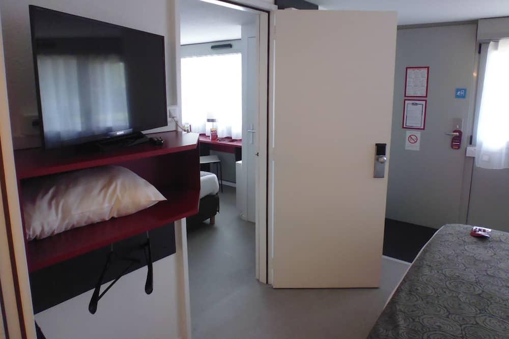 Familieværelse - 2 soveværelser - forbundne værelser - Værelse