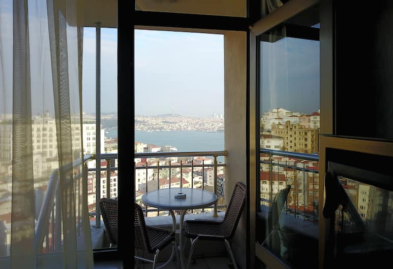 Grand Star Hotel Bosphorus, Κωνσταντινούπολη, Δωμάτιο, Θέα από το μπαλκόνι