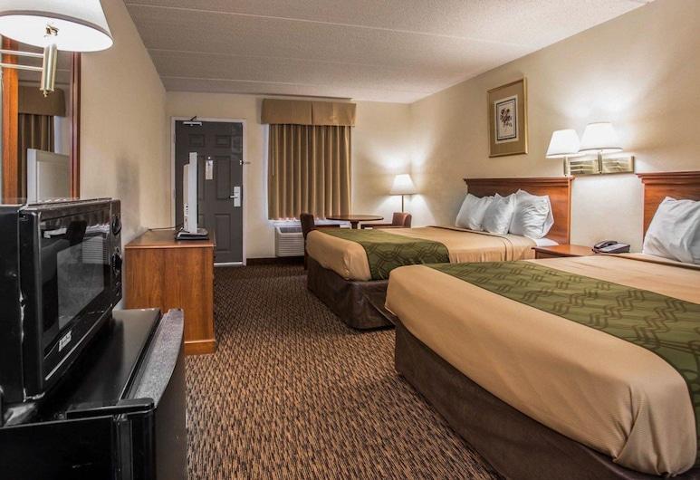 Econo Lodge Inn & Suites, Lugoff, Quarto Standard, 2 camas queen-size, Fumadores, Quarto