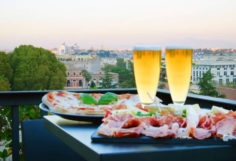 Trilussa Palace Wellness & Spa, Rom, Terrasse/Patio