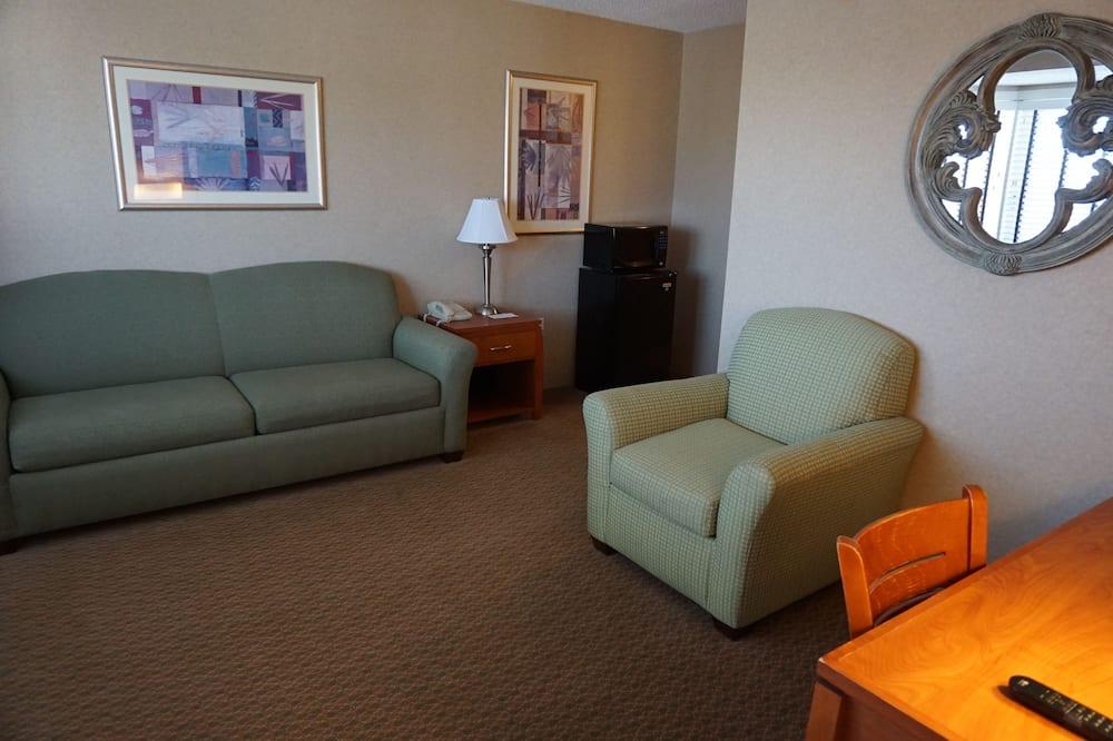 ห้องเพรสซิเดนเชียลสวีท, เตียงคิงไซส์ 1 เตียง และโซฟาเบด, ปลอดบุหรี่ - พื้นที่นั่งเล่น