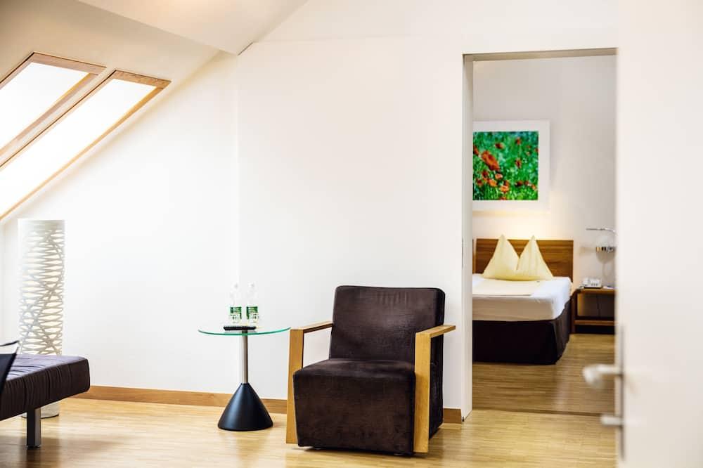 Pokój dla 4 osób, 1 sypialnia, dla niepalących - Salon