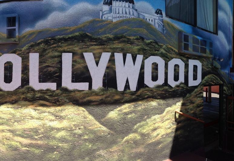 Hollywood Inn Express North, Los Angeles, Otel Sahası