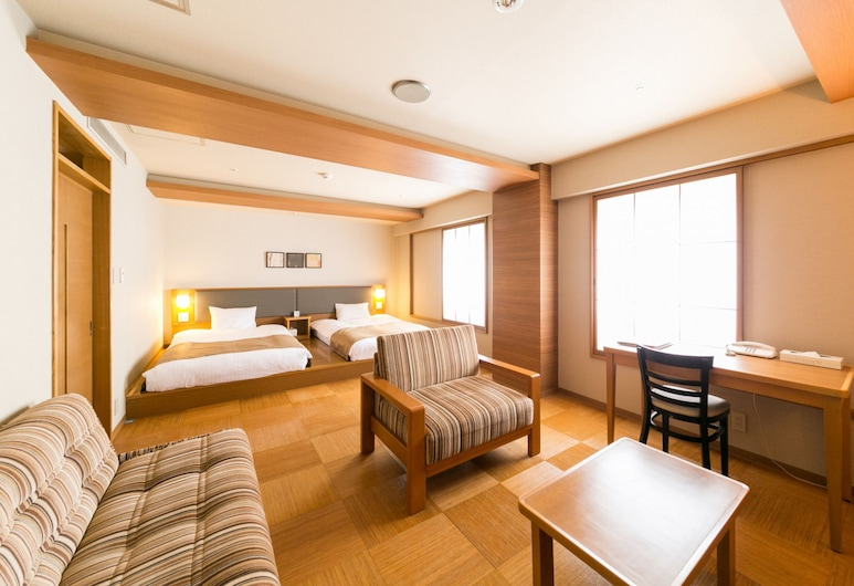 Pearl Hotel Ryogoku, Tokyo, Suite Familiale, non-fumeurs, Coin séjour