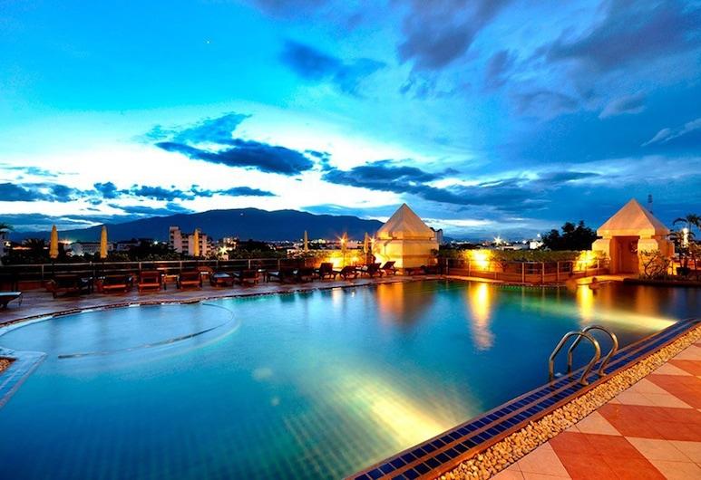 清邁東他挽酒店, 清邁, 室外泳池