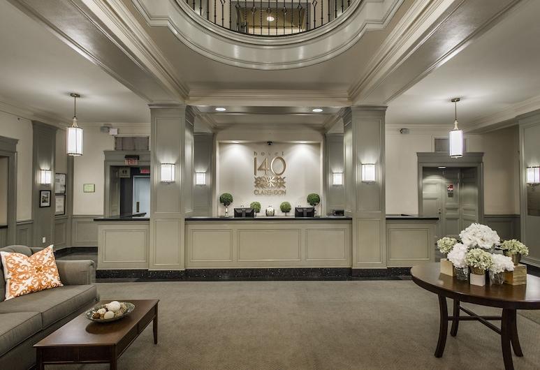 Hotel 140, Μπόστον, Λόμπι