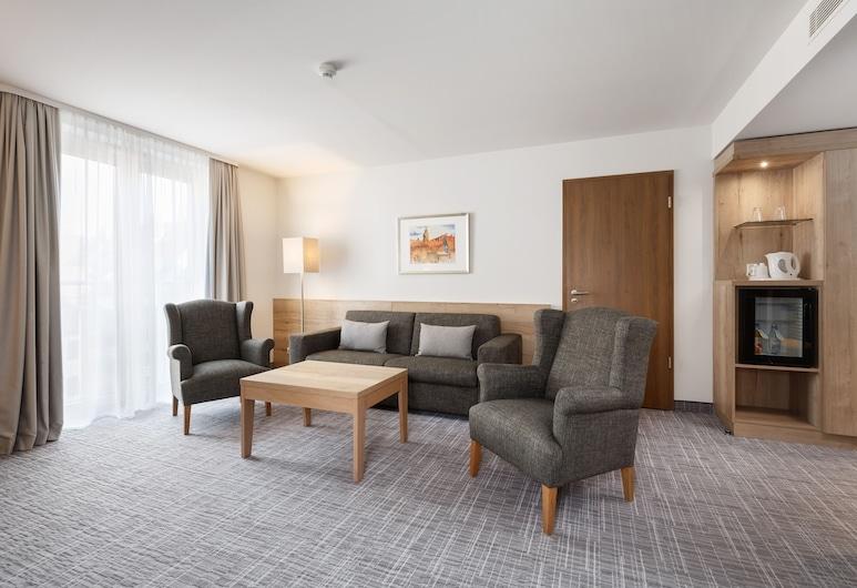 Holiday Inn Nürnberg City Centre, Нюрмберг, Люкс, 1 спальня, для некурящих (Living Room), Номер