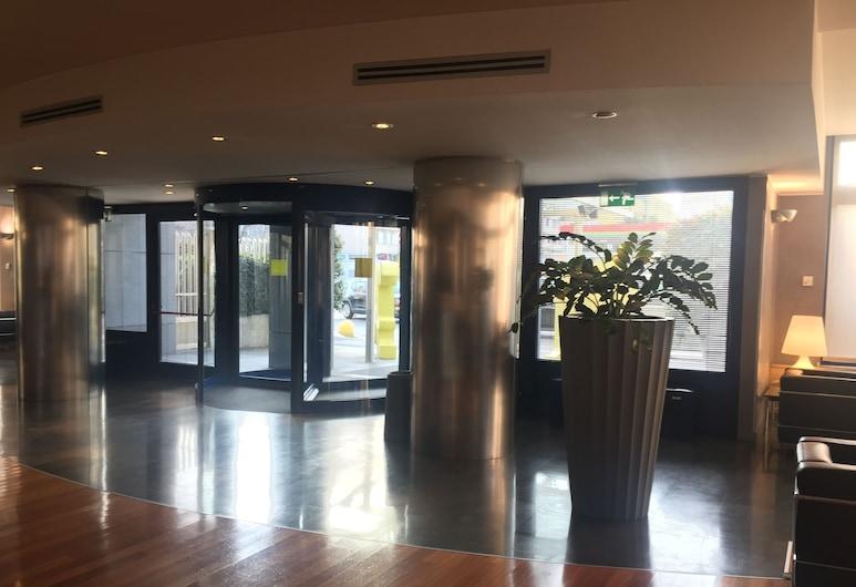 Hotel La Spezia, Milaan, Ingang binnen