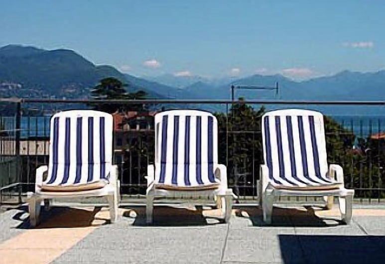 Hotel Meeting, Stresa, Terraza o patio