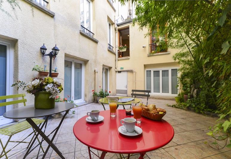 Hôtel Pavillon Montmartre, Παρίσι, Αίθριο/βεράντα