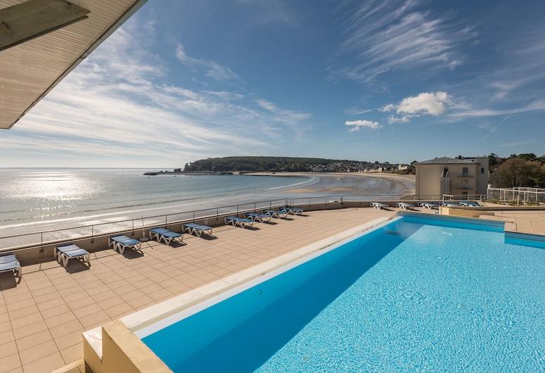 Pierre & Vacances Résidence Cap Morgat, Crozon, Útilaug