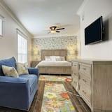 Premium suite, 1 kingsize bed, keuken - Woonruimte