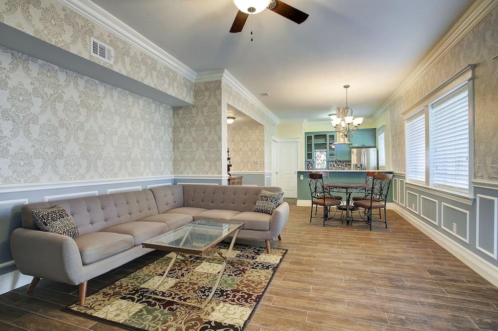 Premium suite, 1 kingsize bed, keuken - Woonkamer