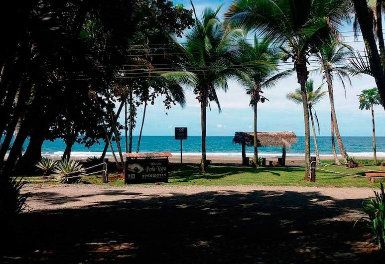 Perla Negra Beach Front Hotel, Puerto Viejo de Talamanca, Wejście do hotelu