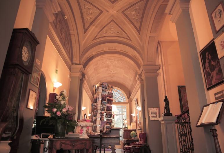 Hotel Villa Liana, Florencia, Entrada interior