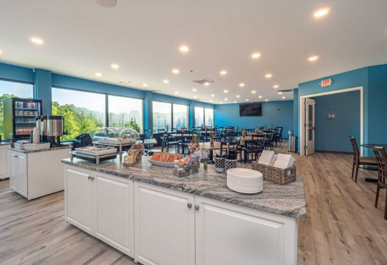 The Breakers Hotel & Suites, Rehoboth Beach, Área para desayunar
