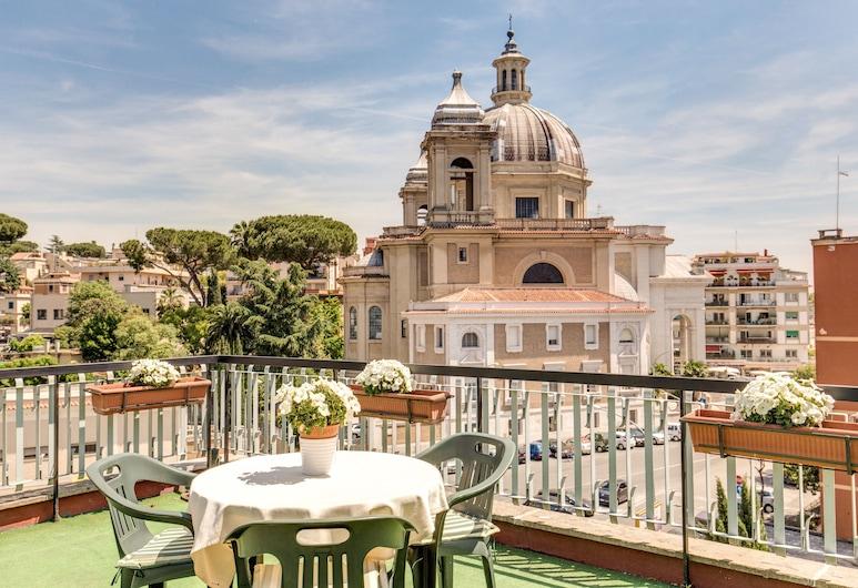 Hotel Farnesina, Roma, Balkon