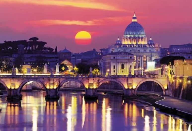Hotel Farnesina, Róma, Külső rész