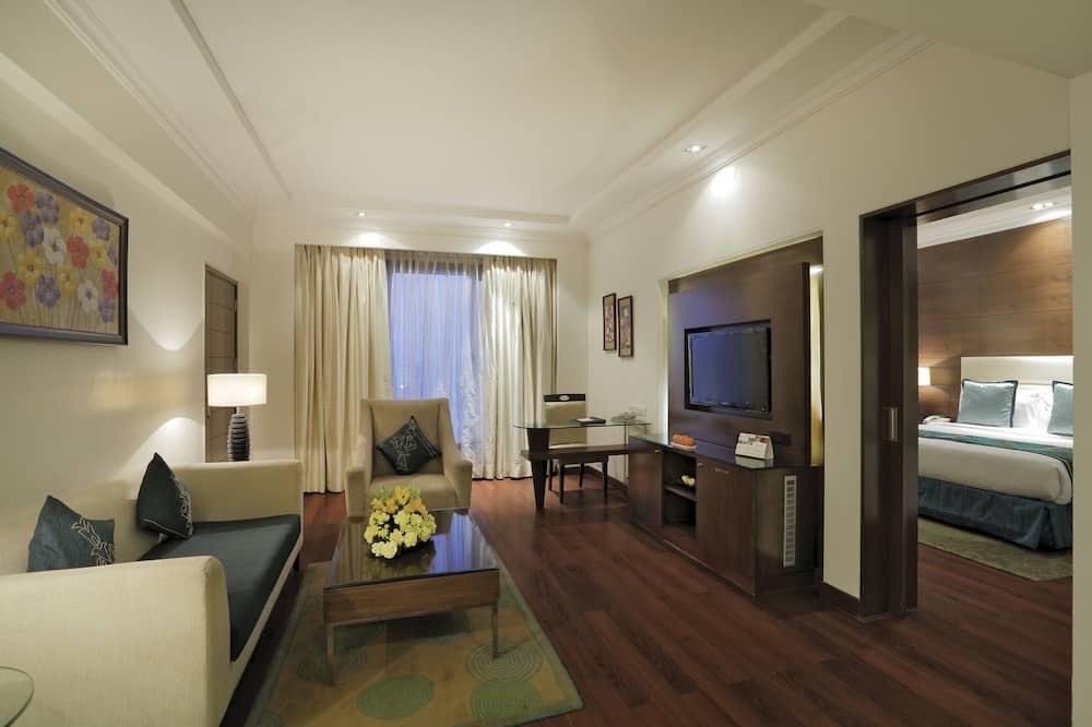 Executive-Suite, 1King-Bett, Nichtraucher - Wohnbereich