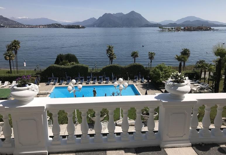Lido Palace, Baveno, Blick vom Hotel