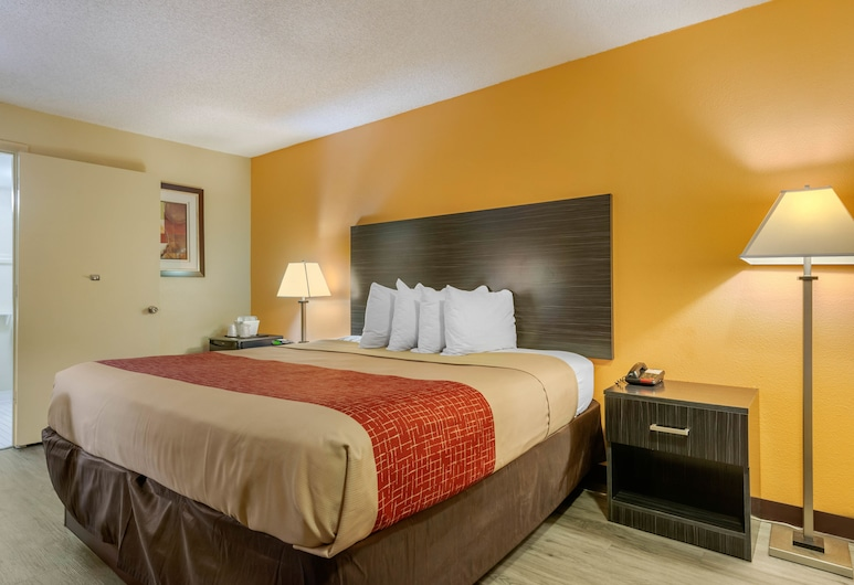 Econo Lodge International Drive, Orlando, Kamer, 1 kingsize bed, Kamer
