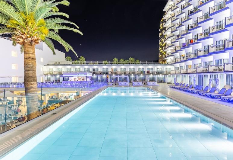 Hotel Samos, Calvia, Zwembad op dak