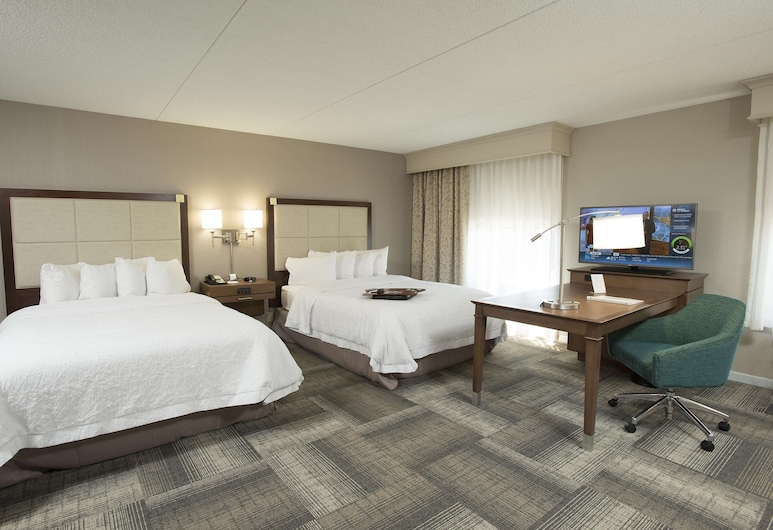 Hampton Inn & Suites Cincinnati-Union Center, West Chester, Estudio, 2 camas Queen size, con acceso para silla de ruedas, para no fumadores, Habitación