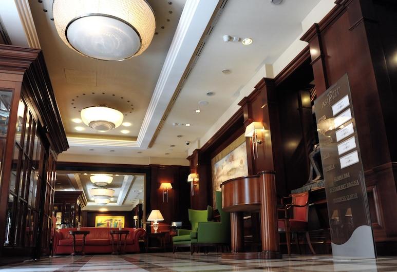 阿斯圖里亞貝斯特韋斯特頂級飯店, 札格拉布, 大廳