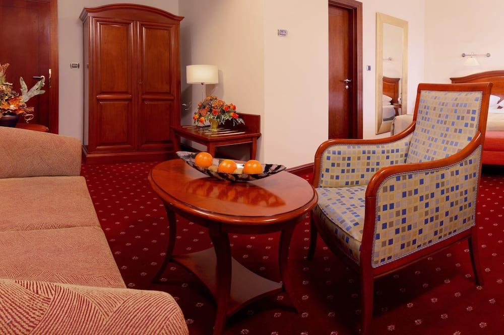 Executive soba, 1 bračni krevet i kauč na rasklapanje - Dnevni boravak