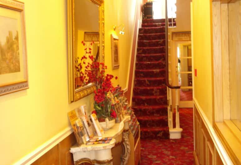 Springfield Hotel London, Londres, Escalier