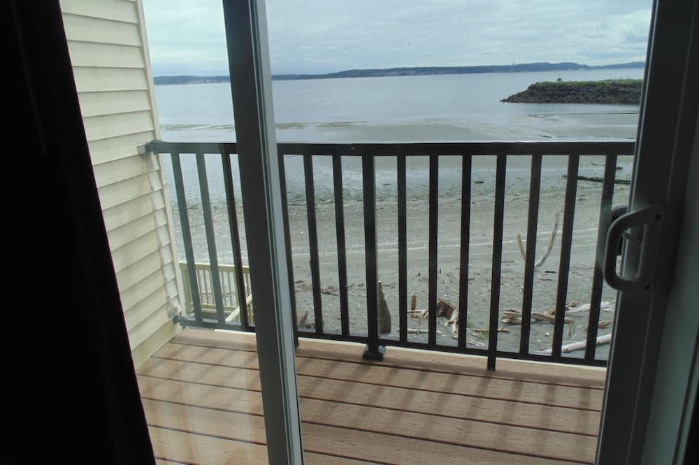 Kamar Deluks, 1 Tempat Tidur King, balkon, pemandangan pantai - Kamar Tamu