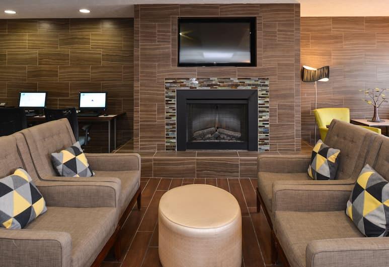 Holiday Inn Express & Suites Omaha West, Omaha, Prostor za sjedenje u predvorju